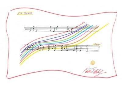 Ave Maria Rainbow
