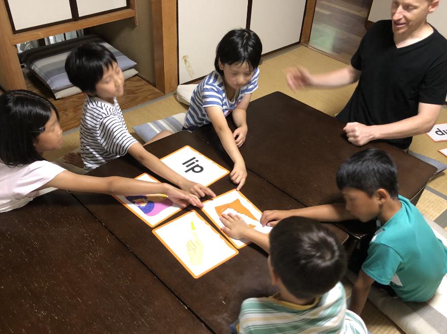 子供の英会話教室、小学生英語レッスン with キース先生